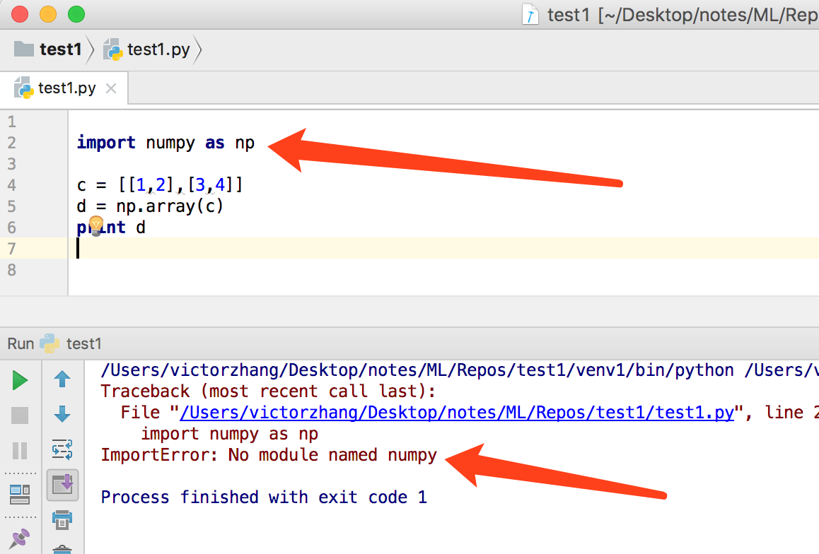 NumPy, SciPy和Pandas的安装教程